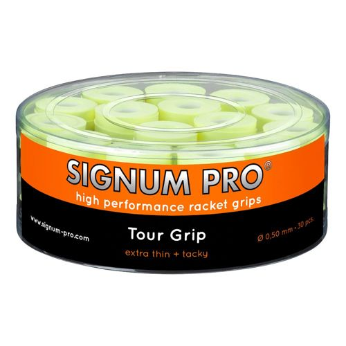 Signum Pro Tour Grip 30 Pack - Yellow