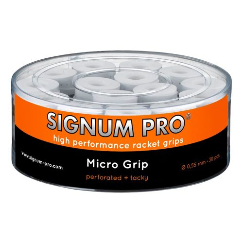 Signum Pro Micro Grip 30 Pack - White