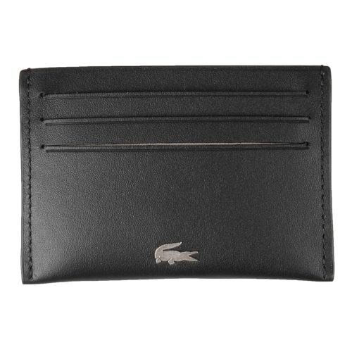 Lacoste Credit Card Holder Wallet - Black