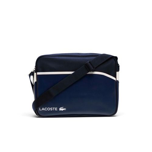 Lacoste Airline Bag Sports Bag - Blue, White