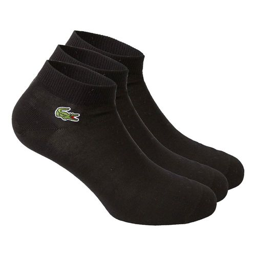 Lacoste Performance Socks 3 Pack - Black