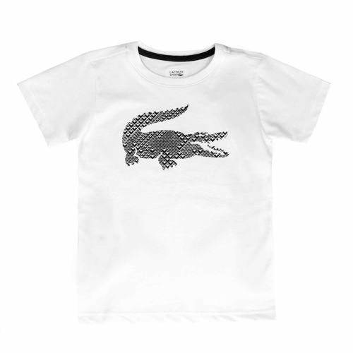 Lacoste Performance T-Shirt Boys - White