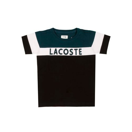 Lacoste Performance T-Shirt Boys - Black, White