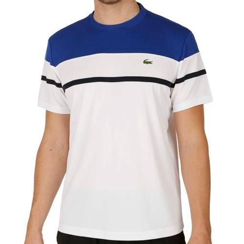 Lacoste Performance T-Shirt Men - White, Blue