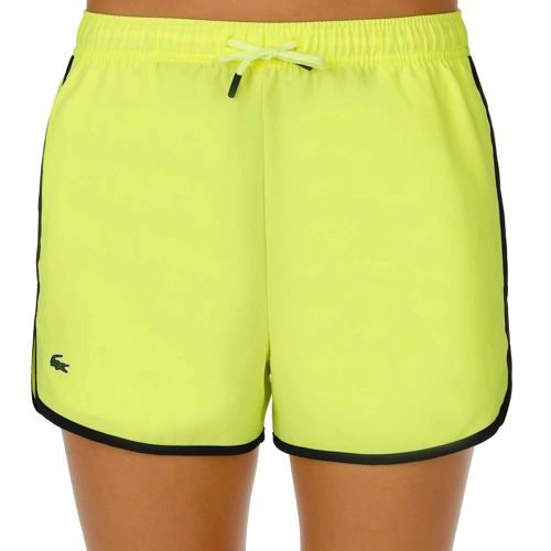 Lacoste Performance Shorts Women - Yellow, Dark Blue