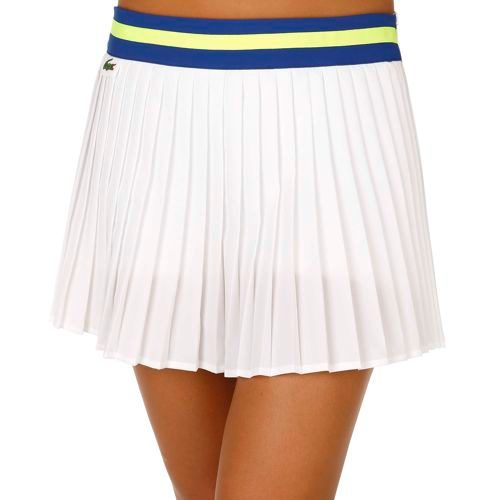 Lacoste Performance Skirt Women - White, Blue