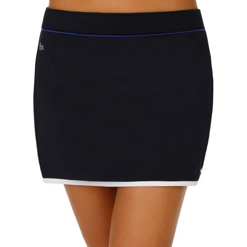 Lacoste Performance Skirt Women - Dark Blue, White