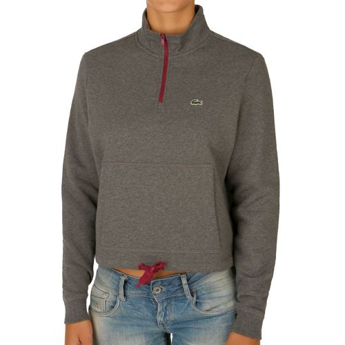 Lacoste Performance Sweatshirt Women - Grey, Red