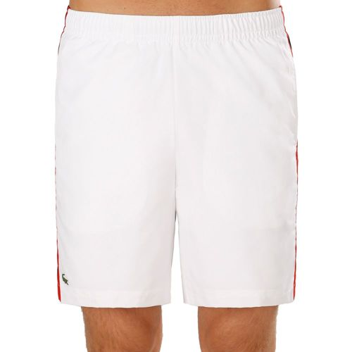 Lacoste Performance Shorts Men - White, Dark Blue