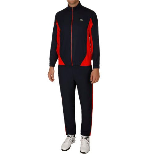 Lacoste Performance Tracksuit Men - Dark Blue, Orange