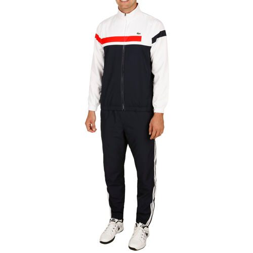 Lacoste Performance Tracksuit Men - Dark Blue, White