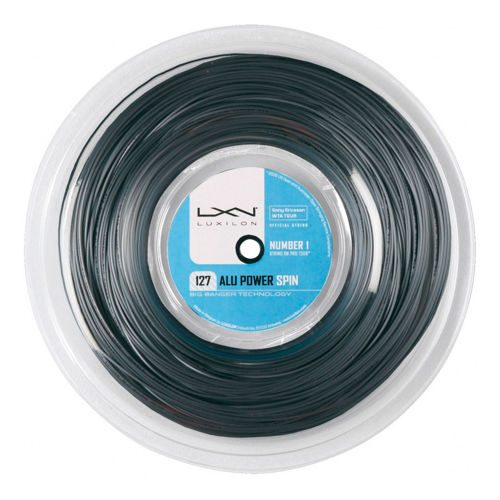 Luxilon Alu Power Spin String Reel 220m - Silver