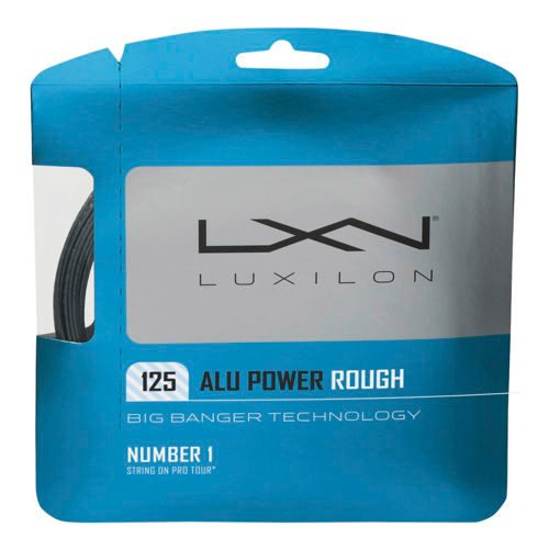 Luxilon Alu Power Rough String Set 12,2m - Silver