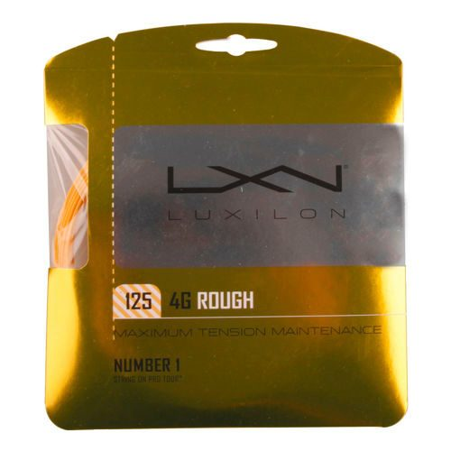 Luxilon 4G Rough String Set 12,2m - Gold