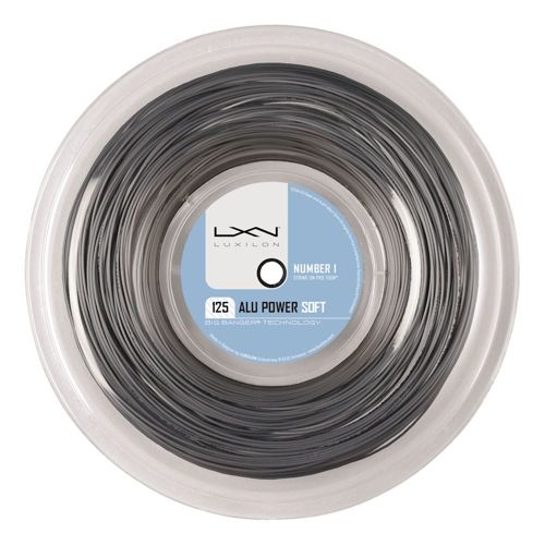 Luxilon Alu Power Soft String Reel 200m - Silver