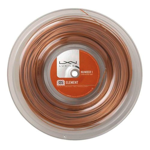 Luxilon Element Bronze String Reel 200m