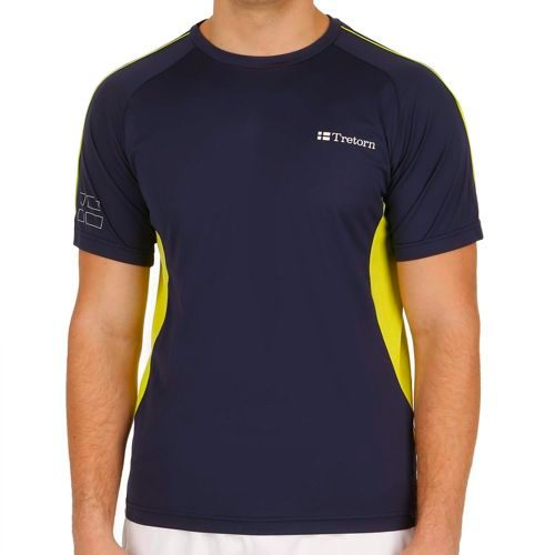 Tretorn Performance T-Shirt Men - Dark Blue