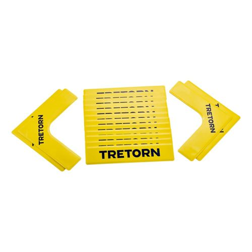 Tretorn Court Lines Marking Lines Set 16 Pack - Yellow