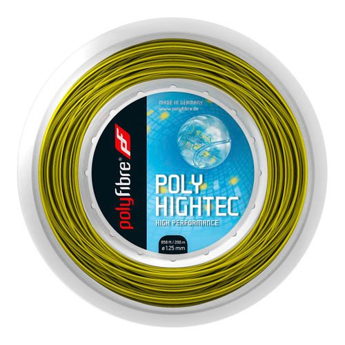 Polyfibre Poly Hightec String Reel 200m - Yellow