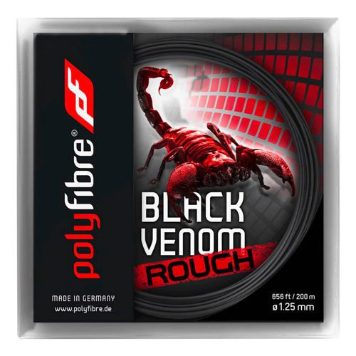 Polyfibre Venom Rough String Set 12,2m - Black