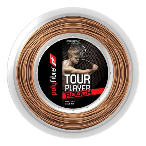 Polyfibre Tour Player Rough String Reel 200m - Ecru