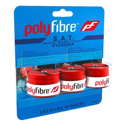 Polyfibre S.A.T. 3 Pack - Red