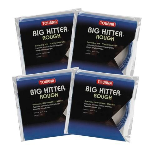 Tourna 2+2 Aktionspaket Tourna Big Hitter Rough String Set 12m - Blue