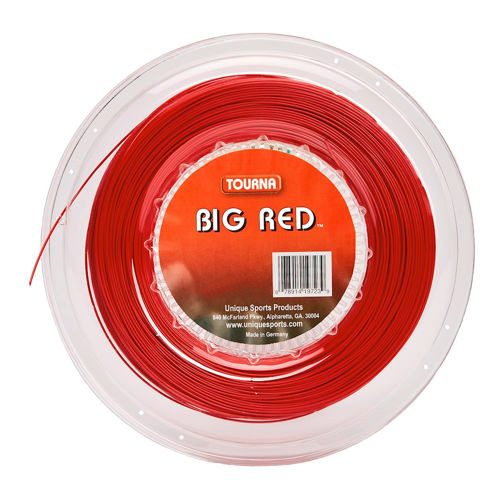Tourna Tourna Big Red String Reel 220m - Red
