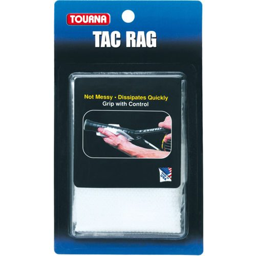 Tourna Tac Rag Racket Accessories - White