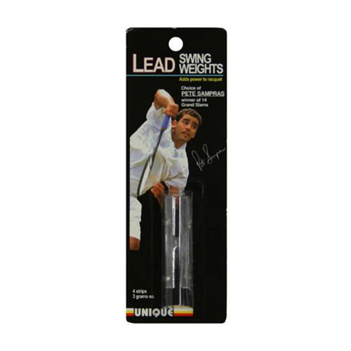 Tourna Power Strips Lead Tape 6 Pack - Silver