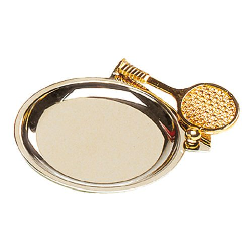 Tourna Tennis Coin Holder Gilded - Gold