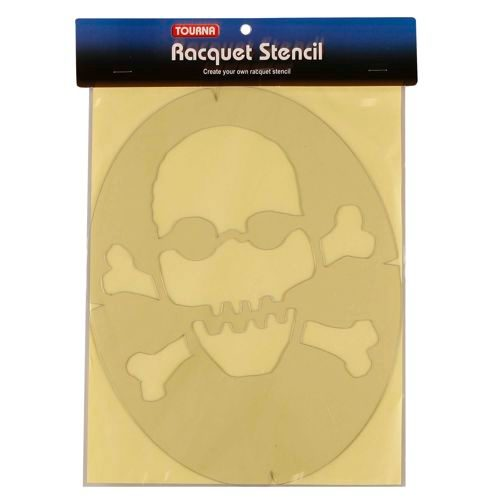 Tourna Fun Skull Logo Stencil - Multicoloured