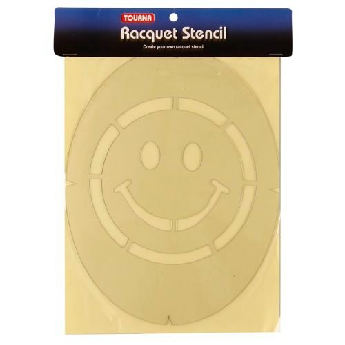 Tourna Fun Smiley Logo Stencil - Multicoloured