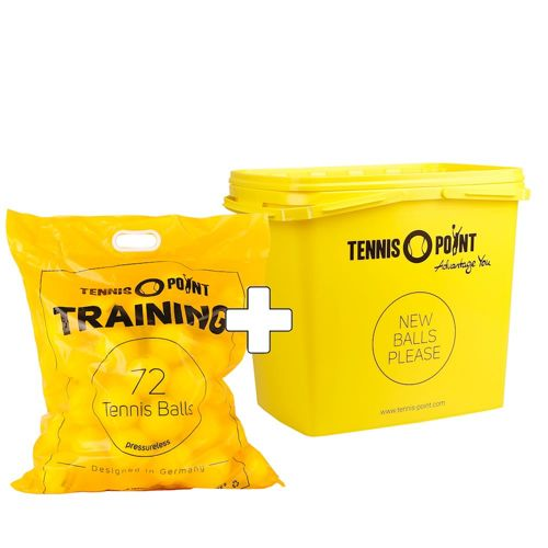 Tennis-Point Training 72 Pack Plus Ball Bucket