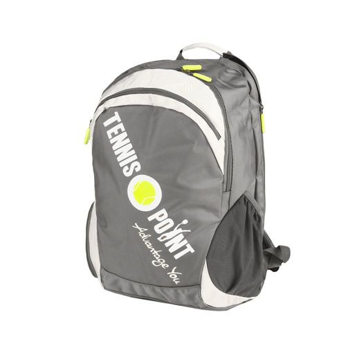 Tennis-Point Backpack - Silver, White