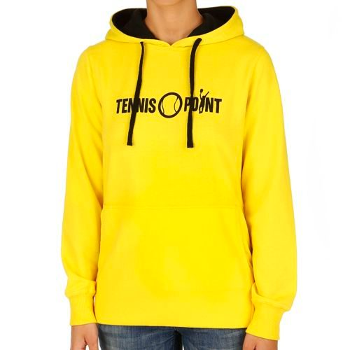 Tennis-Point Promotion Big Logo Hoody Women - Yellow, Black