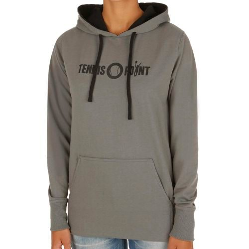 Tennis-Point Promotion Big Logo Hoody Women - Black, Grey