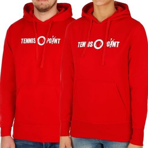 Tennis-Point Promotion Big Logo Hoody - Red, White