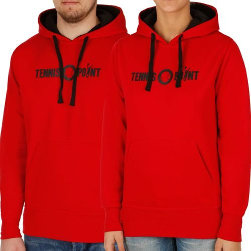 Tennis-Point Promotion Big Logo Hoody - Red, Black