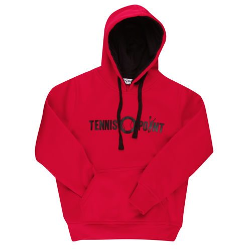 Tennis-Point Promotion Big Logo Hoody Kids - Red, Black