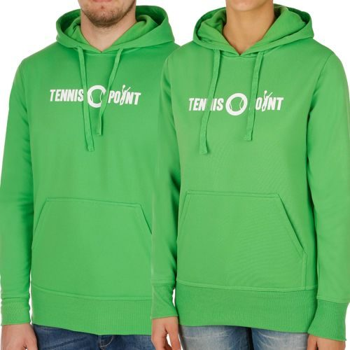 Tennis-Point Promotion Big Logo Hoody - Green, White
