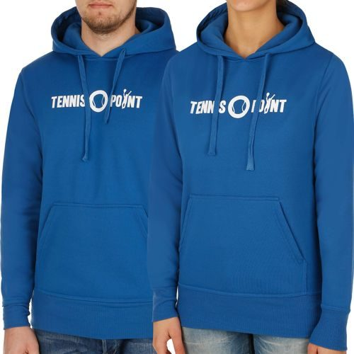 Tennis-Point Promotion Big Logo Hoody - Blue, White