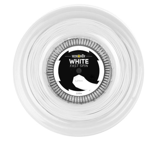 Tennis-Point Fast Spin String Reel 220m - White