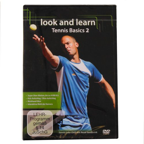 Tennis-Point Look And Learn - Tennis Basics 2 DVD