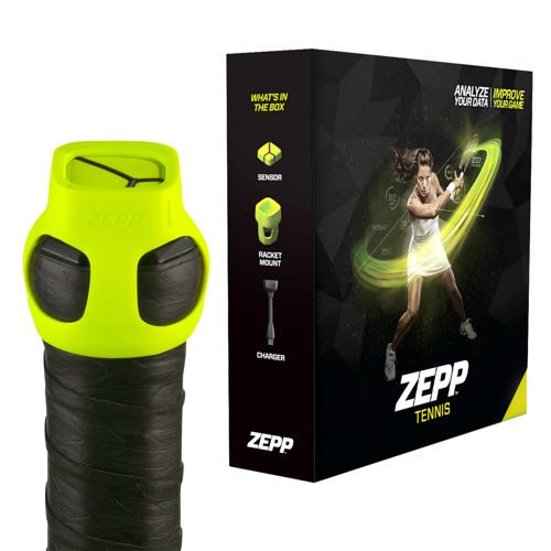 Tennis-Point Zepp Tennis Kit Tennis Computer - Yellow