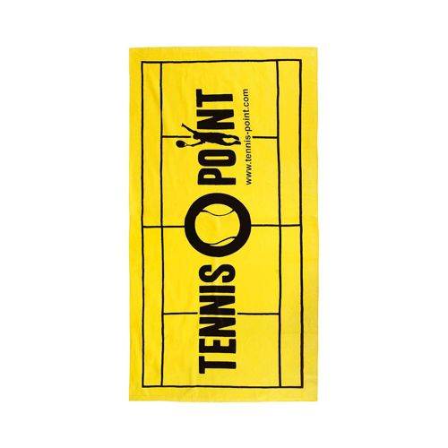Tennis-Point Big Graphic Towel 50x100cm - Yellow
