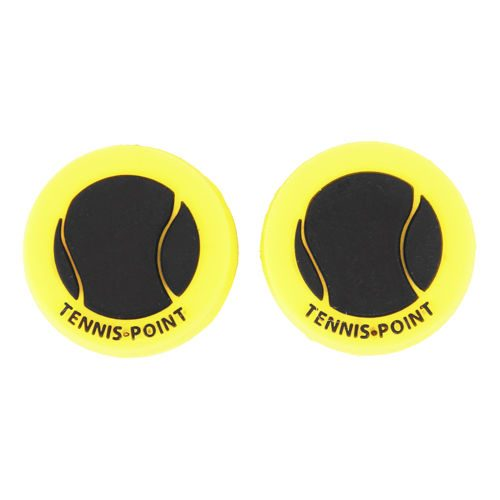 Tennis-Point Dampener 2 Pack - Black, Yellow