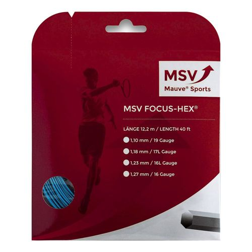 MSV Focus-HEX String Set 12m - Blue
