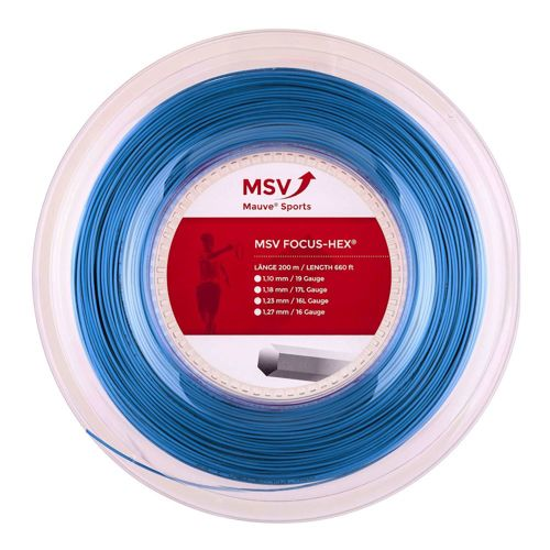 MSV Focus-HEX String Reel 200m - Blue