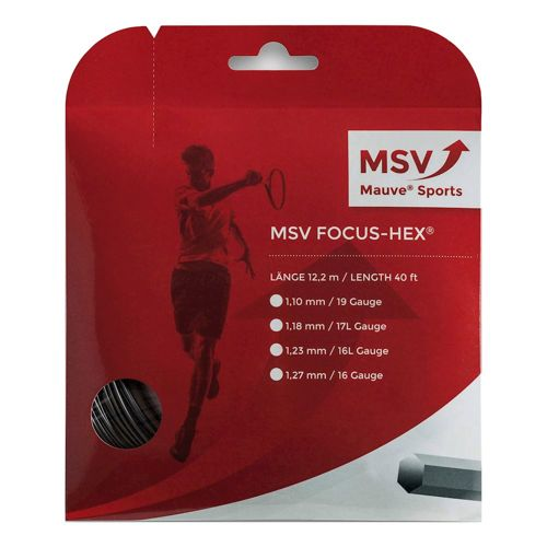 MSV Focus-HEX String Set 12m - Black